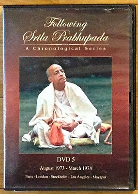Following Srila Prabhupada  A Chronological Series  Dvd 5  Aug  1973 March 1974