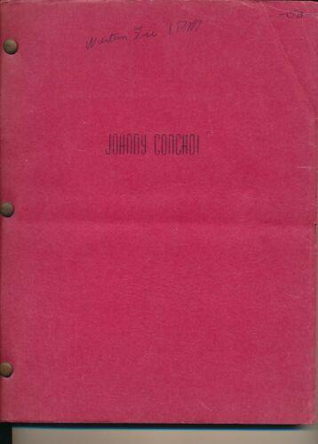 FRANK SINATRA JOHNNY CONCHO Original Vintage 1955 UA Studio Movie Film Script