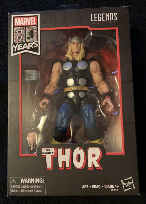 "Hasbro Marvel Comics 80th Anniversaire Legends 6/"" The Mighty Thor et iron man"