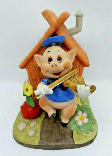 Disney Music Box Three Little Pigs House of Sticks Who