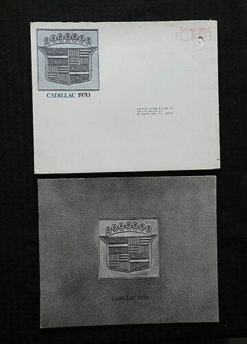 1970 CADILLAC FLEETWOOD ELDORADO COUPE DeVILLE CALAIS CONVERTIBLE MINTY W/ENVELO
