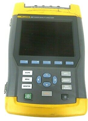 Fluke 435 Three Phase Power Quality Analyzer Meter- Free Shipping