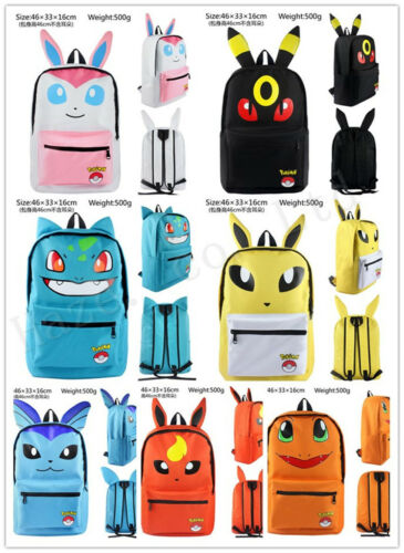 NEW Pokemon Charmander Drawstring Backpack Bag Toy Sport Beach School US SELLER