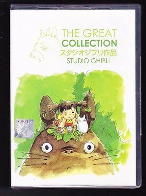 The Studio Ghibli Great Collection  21 Movies English Audio Anime Dvd Us Seller