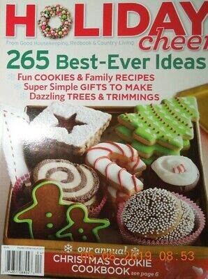 HOLIDAY CHEER 265 best ever ideas CHRISTMAS COOKIE COOKBOOK family recipes (Best Christmas Ideas Ever)