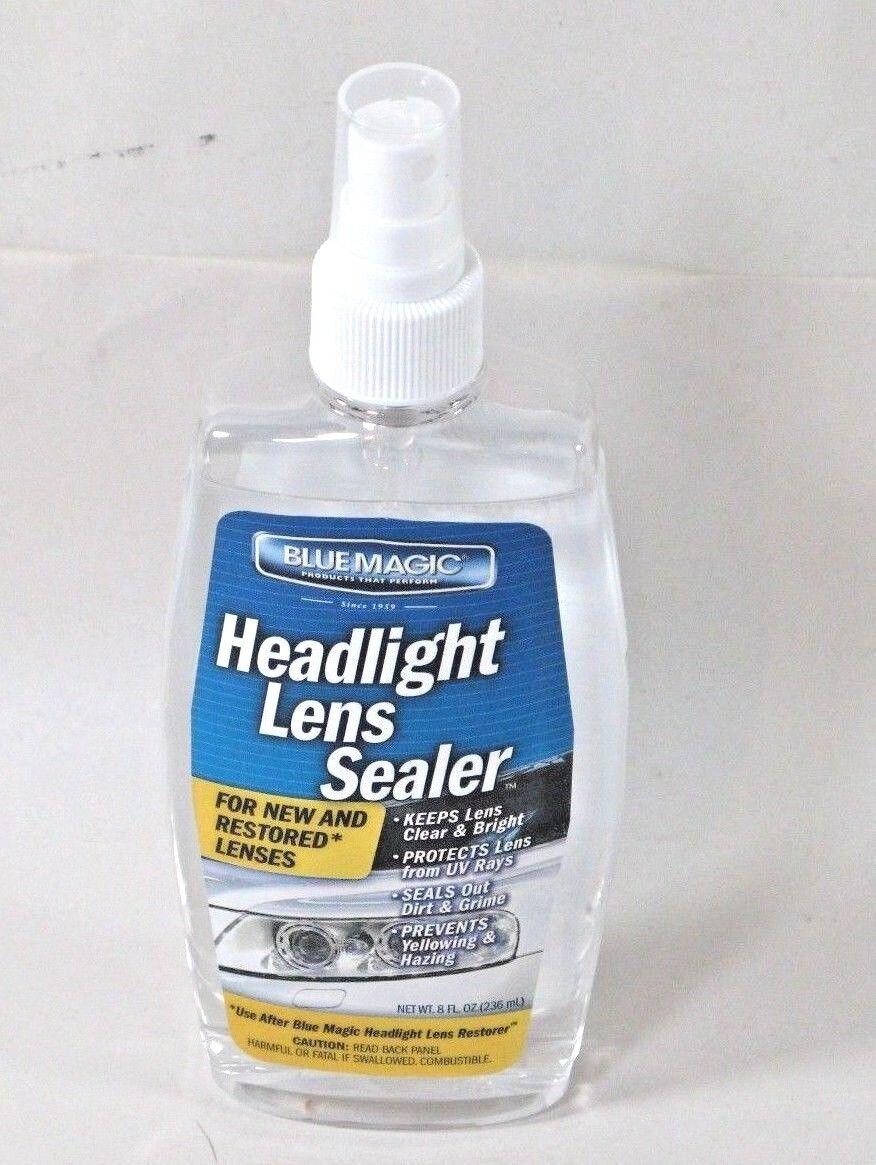 Blue Magic 730-6 Headlight Lens Sealer - 8 oz. For New and Restored Lenses