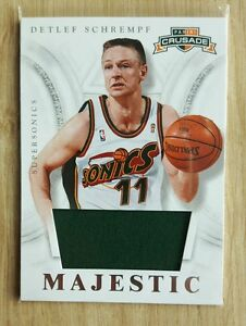 Detlef Schrempf - Game Used Jersey - Majestic - Panini 2012/13