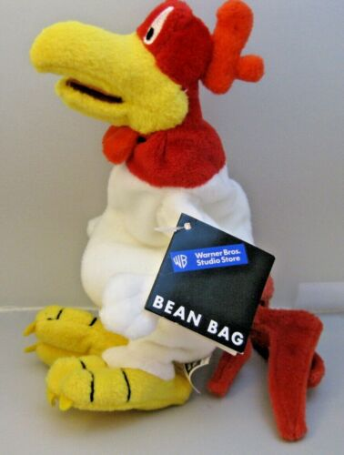 Foghorn Leghorn Warner Bros Studio Rooster Bean Bag Plush Doll Toy with Tags New