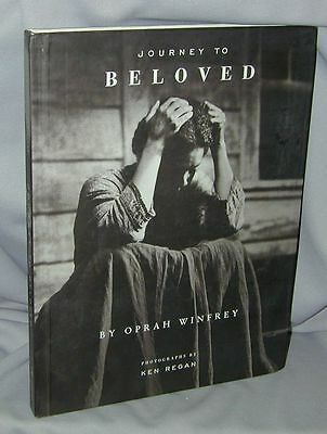 Journey To Beloved By Oprah Winfrey   Signed   1998 Hb 1St 1St Near Brand New