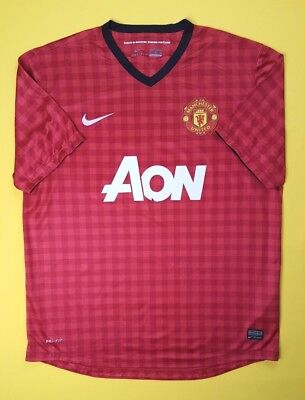 4a4308ef975 4.3 5 Manchester United jersey XL 2012 2013 home shirt 479278-623 Nike ig93