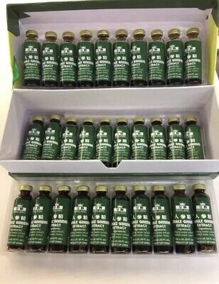 Red PANAX GINSENG Extracts 30 Bottles 6000 MG Royal King-FREE SHIPPING