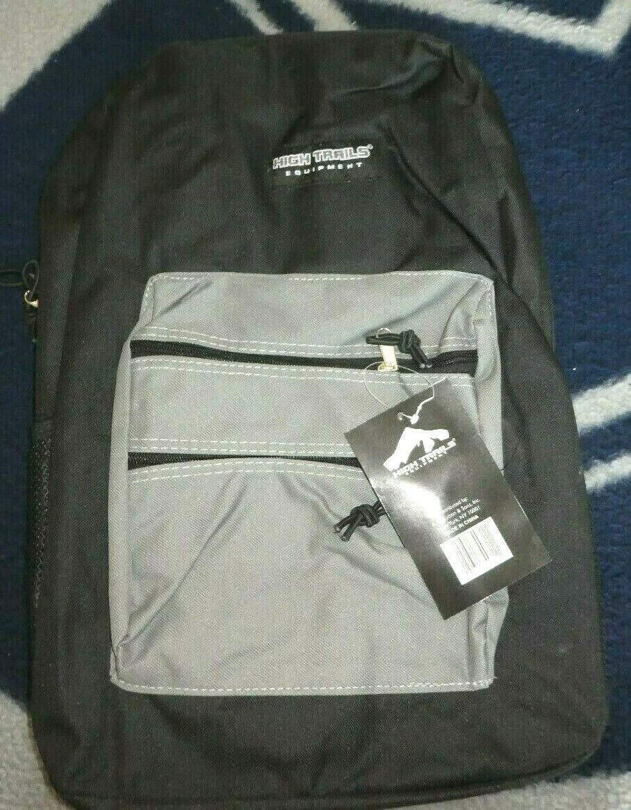 Mens/Women Coll./HS Bookbag Light, Black 17X13X6 - $8.99