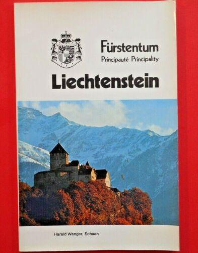 FURSTENTUM LIECHTENSTEIN - Travel Book Harald Wanger Foreign Language