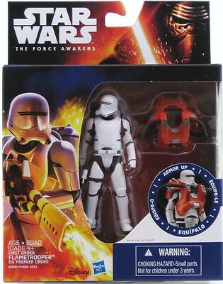 Star Wars The Force Awakens TFA Armor Series Flametrooper Figure 2015 MISB