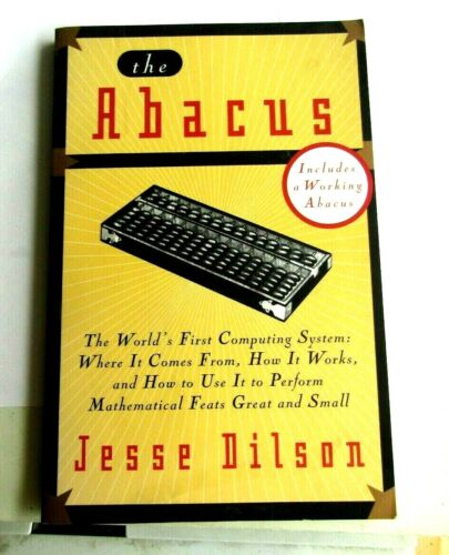 RARE 1968 THE ABACUS JESSE DILSON BOOK HOW TO USE IT TO PERFORM MATH FEATS