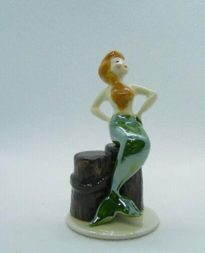 Hagen Renaker Mermaid on Piling Figurine Miniature New 2092 Free Shipping