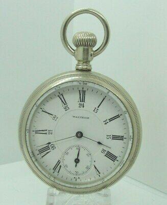 1908 Waltham Mod 1892 17j 18s Grade P.S. Bartlett OF Pocket Watch Two Tone Works
