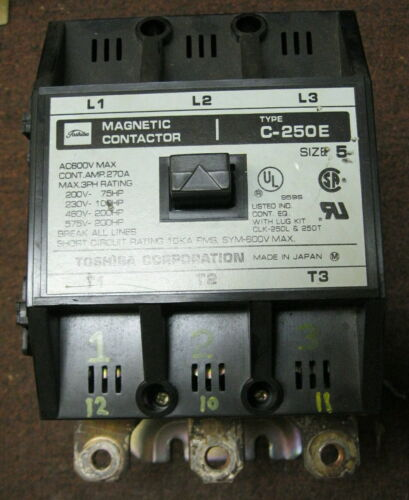 Toshiba C-250E Magnetic Contactor Size 5