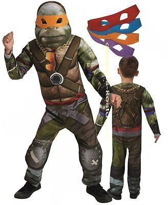 RUB 3630303 Kinder Jungen Kostüm Ninja Turtles TMNT Movie Hybrid Kinderkostüm (Junge Ninja Turtle Kostüme)