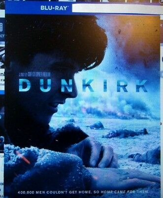 Dunkirk    Blu Ray Movie Disc  Bonus Disc  Blu Ray Case And Artwork