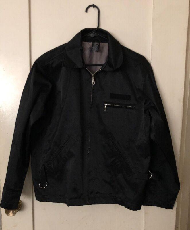 Warner Bros Marvin Martian Nylon Black Jacket  XS