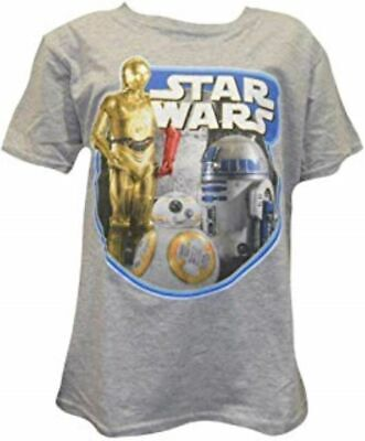 Star Wars T-shirt C3PO, R2D2 Sizes age 3 years - 11 years Official