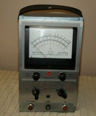 Rca Voltohmyst Type 195a Code 1146 With Probes