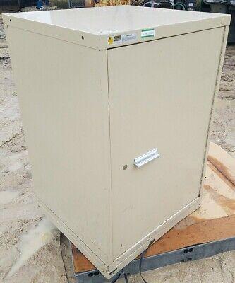 Stanley Vidmar Single Door H.d. Storare Cabinet 3-shelves 30w X 28d X 44t
