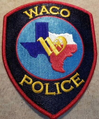 TX Waco Texas Police Patch