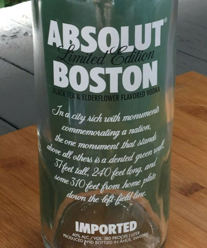 ABSOLUT VODKA BOSTON 2009 Limited Edition Collector Bottle - Empty w/out tag