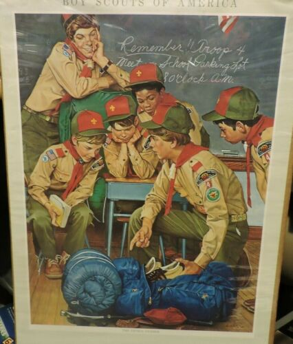"""Vintage BSA 1982 Calendar with """"Save at Mays"""" Advertisement"""