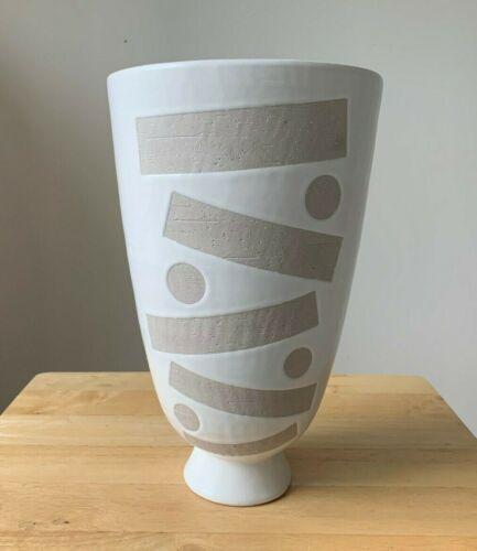 "JONATHAN ADLER 12.75"" Hand Made Abstract Modern Vase - Peru - VGUC"