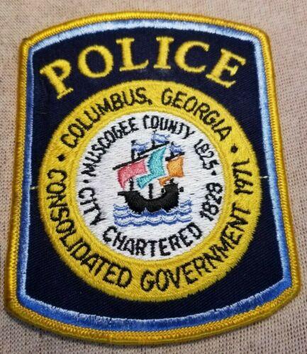 GA Columbus Georgia Police Patch