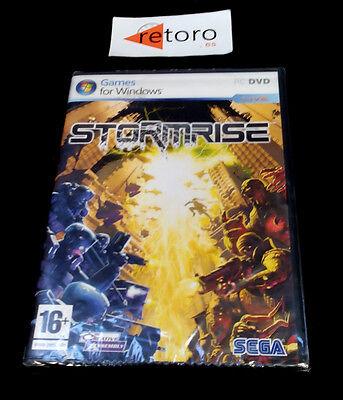 STORMRISE PC DVD VERSION ESPAÑOLA Precintado Nuevo Castellano SEGA