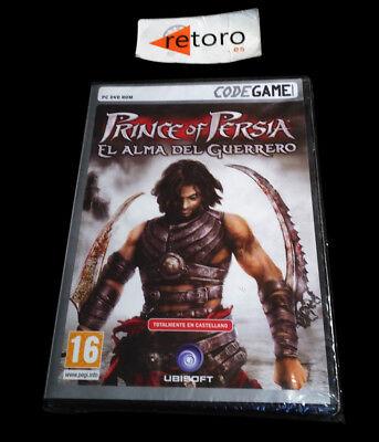 PRINCE OF PERSIA EL ALMA DEL GUERRERO PC DVD Pal-España Español NUEVO...