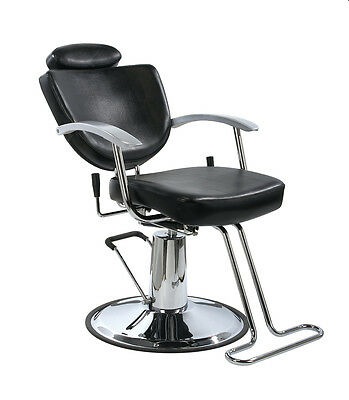 New Black Fashion All Purpose Hydraulic Recline Barber Salon Chair Shampoo 67W