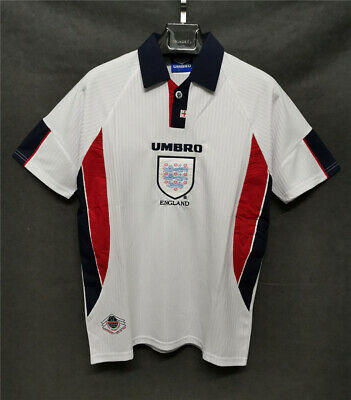 Retro Jersey England 1998 Home Football Shirt BECKHAM #7