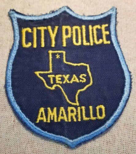 TX Amarillo Texas Police Patch