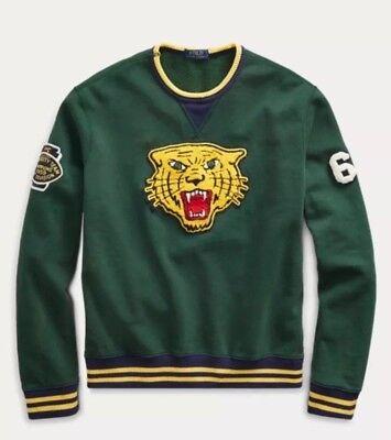 polo ralph lauren Tiger sweater jacket p wing stadium 1992 Snow beach hi tech