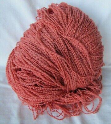 "Hand Painted Schaefer ""Nancy"" yarn. Color is Tomato  8oz. 95% Merino wool"