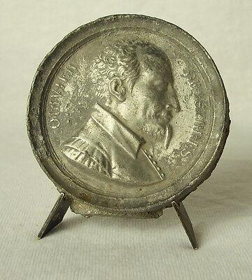 Medaglia Olivier Della Serra Agronomo Francese, Protestante Medal comprar usado  Enviando para Brazil