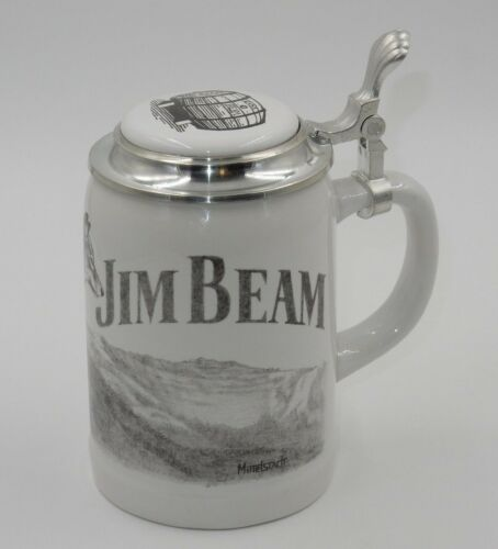 25th ANNIVERSARY WOLF STEIN BADGER JIM BEAM CLUB ~ 138 of 150 ~ ARTIST SIGNED!