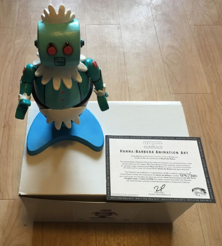 JETSONS MAQUETTE  STATUE   LTD TO 500 SETS ROSIE THE ROBOT