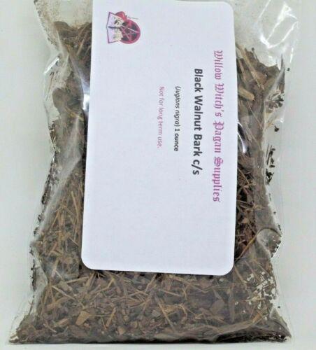 Black Walnut Bark c/s 1 Ounce Wicca Hoodoo Voodoo Witchcraft Herb Santeria