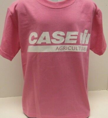 Case IH Agriculture Pink Short Sleeve Womens T-Shirt
