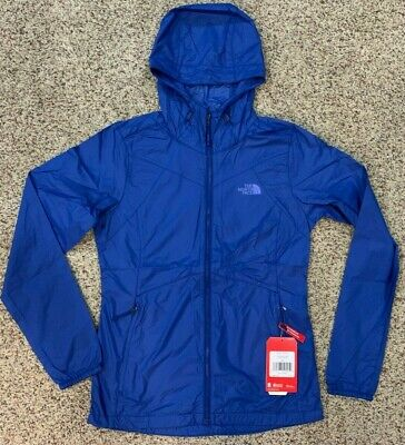 The North Face womens Packable Flyweight Hoodie Jacket XS