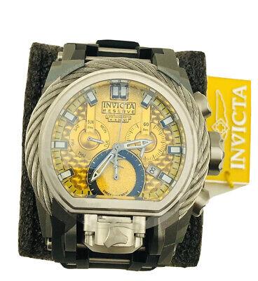 Invicta Reserve Bolt Zeus 52mm Quartz Aqua-Plated Men's Watch (26444)