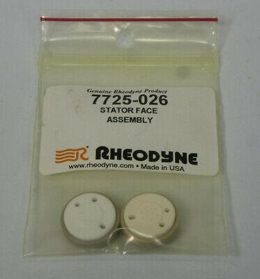 Lot 2x Rheodyne 7725-026 Stator Face Assembly