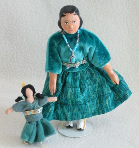 Judy Brown designed Santa Fe Hitty w cloth doll-Produced in China