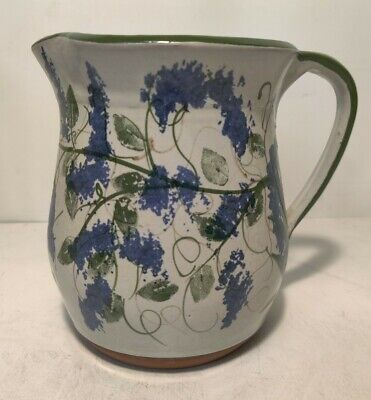 Pigeon Switch Pottery Small Pitcher Approx. 5.5